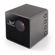 DLP nHD (640x360) Proyector,LED 15/30 Mini Portátil HD DLP Proyector