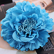 Satén Látka Přílba-Svatba Zvláštní příležitost Outdoor Ozdoby do vlasů Květiny Saç Aracı Jeden díl