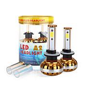 2017 nuevo 880 881 60w 6400lm llevó kit de faros mazorca chip de 6000K bombillas 8000K lámparas par luz