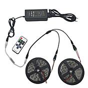 set luz 10m 5050 600 luz rgb IP44 11 conector infravermelho tecla de alimentação 12v 6a controle remoto