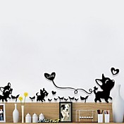 動物 ウォールステッカー プレーン・ウォールステッカー ミラー・ウォールステッカー 飾りウォールステッカー,ペーパー 材料 再利用可 ホームデコレーション ウォールステッカー・壁用シール