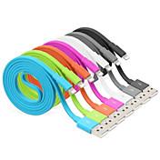 IMF rayo certificado de 8 pines de sincronización de datos y de carga cable usb para el iphone 7 6s 6 Plus SE 5s 5 ipad (100 cm)