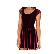 eaby vestido de terciopelo modelos aliexpress estallar