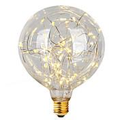 2w e26 / e27 led glødelamper g95 47 integrere led 300 lm varm hvid dekorative ac 220-240 v 1 stk