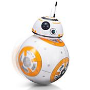 un nuevo tipo de 2.4g-bb-8 inteligente pequeño robot balón robot de control remoto para los niños