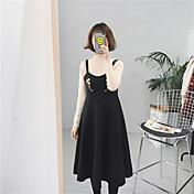 signo # vestido de lana cintura bordado vestido grande del oscilación en el arnés