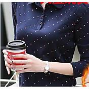 プラスベルベットのシャツの女性の2016新しい女性' sの冬の韓国潮スリム薄い秋と冬の長袖の思いやりの女性