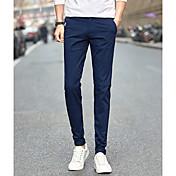 2017 verano nuevos hombres&# 39; s pantalones casuales pantalones pies delgado primavera estudiante coreano salvaje pantalones largos