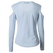 2017年春、ヨーロッパ、アメリカの女性'新しいstrapless胸の印刷ヘッジ長袖シャツ女性