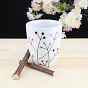 minimalismo Artículos para Bebida, 320 ml Reutilizable Porcelaine Jugo Agua Vajilla de Uso Habitual