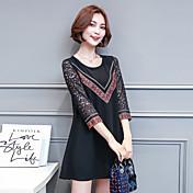 記号のレースのシャツ女性の長袖の2017新しいファッションの春とシャツブラウスシフォン長いセクション