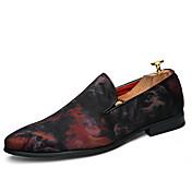 Holgazanes para hombres&Slip-ons de primavera verano club de zapatos mocasín formal zapatos comodidad tullewedding al aire libre