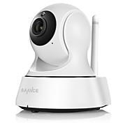 SANNCE 1.0 MP 屋内 with デイナイト 赤外線カット 64(デイナイト モーション検出 リモートアクセス IRカット ワイファイ・プロテクテッド・セットアップ(WPS) プラグアンドプレイ) IP Camera