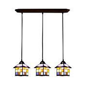ペンダントライト ,  ティファニー/ステンドグラス その他 特徴 for LED デザイナー メタル ベッドルーム ダイニングルーム キッズルーム エントリ 廊下