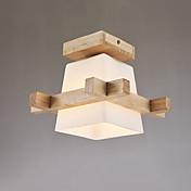 Takmonteret ,  Moderne / Nutidig Andre Funktion for LED Træ/bambus Stue Spisestue Køkken Læseværelse/Kontor Entré