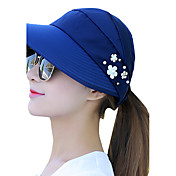 Mujer Verano Casual Algodón Sombrero para el sol,Estampado