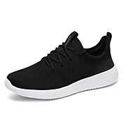 HombreConfort Suelas con luz Zapatos de los pares-Zapatillas de Atletismo-Exterior Informal Deporte-Tul-Negro Gris Azul