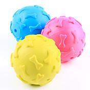 犬用おもちゃ ペット用おもちゃ ボール型 噛む用おもちゃ キーッ ボーン
