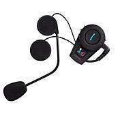 Freedconn 1pc / set los auriculares impermeables del intercom del casco de los auriculares del interphone del bluetooth del receptor de