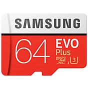 samsung 64gb micro sdカードtfカードメモリカードuhs-i u3 class10 evo plus 100mb / s