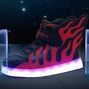 Dječaci Sneakers Proljeće Ljeto Jesen Zima Osvijetlite Shoes Svjetlosni obuće Koža Aktivnosti u prirodi Ležeran Atletika Niska potpetica