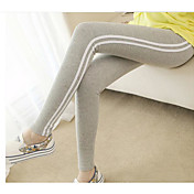 Mujer Rayas Estampado Legging