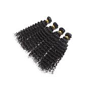 El pelo humano virginal brasileño de la onda del pelo virginal teje los productos de pelo 10-26inch 100g / pcs 4bundles