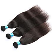 Tejidos Humanos Cabello Cabello Malayo yaki 12 meses 3 Piezas los tejidos de pelo