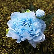 3 Piezas 3 Rama Seda Peonías Flor de Mesa Flores Artificiales