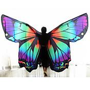 Danza del Vientre Mujer Diseño de mariposa 2 Piezas Flores/Botánica Tema Lazo Navidad Primavera Hadas Día Festivo Animal Personas1