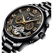 Hombre JuventudReloj Deportivo Reloj Militar Reloj de Vestir Reloj Esqueleto Reloj de Moda El reloj mecánico Reloj creativo único Reloj