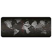 大きな世界地図マウスパッド(30x80x0.2cm)