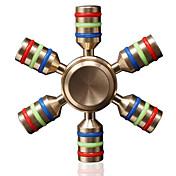 Fidget spinners Hilandero de mano Juguetes Juguetes Cerámicas Latón EDCAlivio del estrés y la ansiedad Juguetes de oficina Alivia ADD,