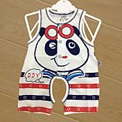 赤ちゃん 子供用 赤ちゃん 綿 ベビーシャワー ストラップ柄 キャラクターデザイン ワンピース,キャラクター オールシーズン