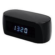 1.3 mp visión nocturna wifi inalámbrico reloj electrónico cámara ip remotamente monitor p2p cctv leva para la seguridad en el hogar
