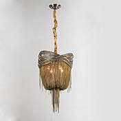 Lámparas de aluminio e12 / e14 / luces colgantes de diseño / latón antiguo / sala de estar / inoxidable