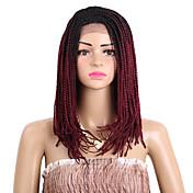Trenza de la torcedura Box Trenzas Kanekalon Negro Marrón Oscuro Rubio Negro / castaño medio Negro / Borgoña Extensiones de cabello 40cm