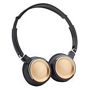 bt800ヘッドバンドワイヤレスヘッドフォンダイナミックプラスチック携帯電話イヤホンマイク、ボリュームコントロールヘッドセット付き