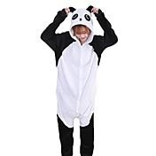 Kigurumi Pijamas Oso Panda Festival/Celebración Ropa de Noche de los Animales Halloween Moda Bordado Franela Disfraces de Cosplay Kigurumi