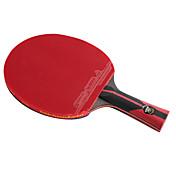 6 bodů Ping Pang/Stolní tenis Rakety Ping Pang Karbonová vlákna Dlohá rukojeť Pupínky 1 Raketa 1 Taška na oing pong