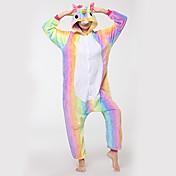Kigurumi Pijamas Caballo volador Festival/Celebración Ropa de Noche de los Animales Halloween Moda Bordado FranelaDisfraces de Cosplay