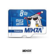tarjeta de memoria mixza micro tarjeta sd 8gb class6 flash tarjeta de memoria microsd para smartphone / tableta