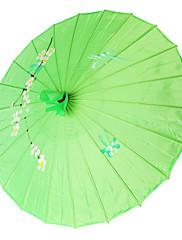 グリーン♥シルク日傘