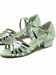 koženkové horní taneční boty taneční sál latin boty pro děti více barev
