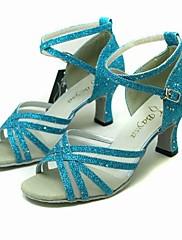 boty společenského tance šumivých třpytky horní latinské taneční boty pro ženy více barev