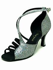 šumivé třpytky / velvet horní taneční boty taneční sál latin boty pro ženy více barev