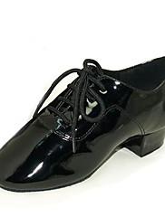 lakované kůže horní taneční boty taneční sál latin boty pro děti