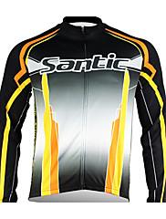 Santic - cyklistika pánská bunda se 100% zimní Polyster 2011 černé barvě