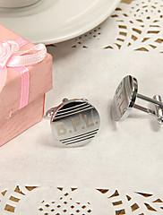 ženich družba Dárky Piece / Set Manžetové konflíčky a kravatové spony Klasické Moderní Svatba Výročí Narozeniny Zinkové slitiny