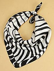 černá a bílá vytisknout šátek (50cm * 50cm)